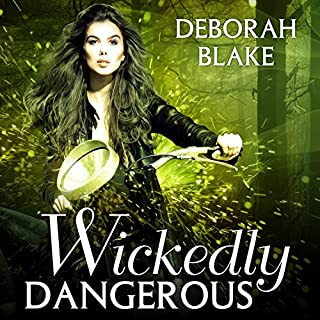 Wickedly Dangerous audiobook cover art