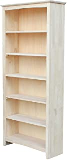 Best solid pine unfinished bookcase Reviews
