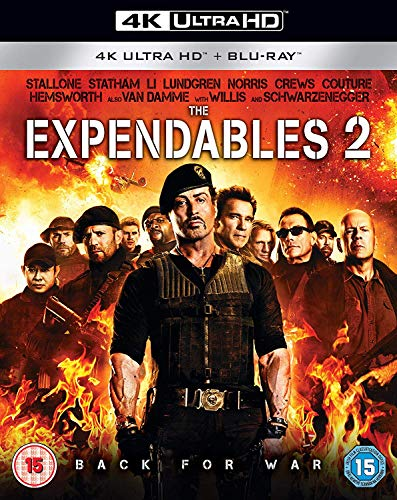 The Expendables 2 [Blu-Ray] [Region Free]