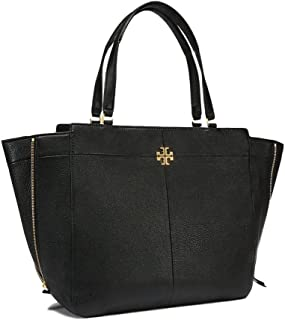 Tory Burch Ivy Side-Zip Leather Tote Bag