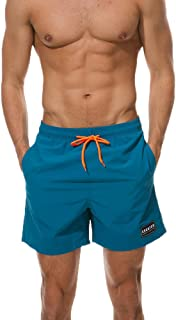 ZEFOTIM Casual Shorts for Men's Swimwear Running Surfing Sports Plus Size Beach Shorts Trunks Board Pants