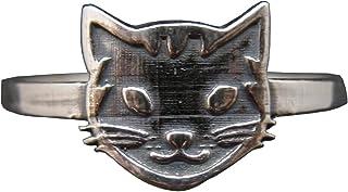 Anello in Argento Sterling Fatto a Mano Cat Timbrato 925 R002146 Empress
