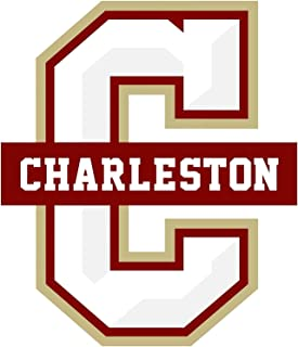 Craftmag Vinyl Sticker College of Charleston Cougars NCAA Premium Quality Decal Computer Cut Cars Bumpers Laptops Phones Water Bottles Walls (3