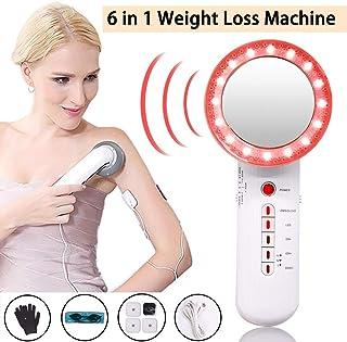EMSの脂肪質の取り外しの減量機械、顔の腕の足の胃のために、きつく締まる1つの多機能の美装置ボディスリミングに付き高周波振動6つ