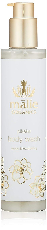 入植者ガラガラ光沢のあるMalie Organics(マリエオーガニクス) ボディウォッシュ ピカケ 224ml