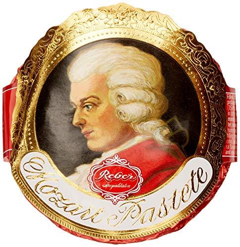 Reber Mozart-Pastete, Zartbitter-Schokolade, Marzipan, Trüffel, Nougat, Tolles Geschenk, 1 Stück