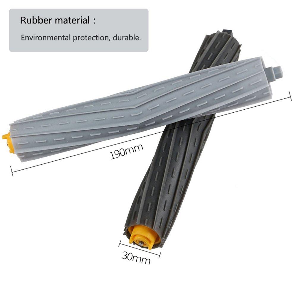 efluky Kit cepillos repuestos de Accesorios para iRobot Roomba 800 ...