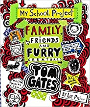 [By Liz Pichon] Family, Friends and Furry Creatures (Tom Gates) (Hardcover)【2017】by Liz Pichon (Author) [1865]