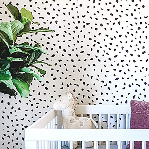 "STENCILIT Panther Dalmatian Spots and Cheetah Large Wall Stencil for Painting - XL Size 24""x37.5"" - Wall Stencils for Painting Large Pattern - Stencils for Kids Nursery Accent"