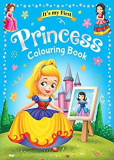 Four Colouring Book 64 Pages size 28 X 21.6 cm Made in Malaysia + 24 pcs Long Colouring Pencils Made in Spain