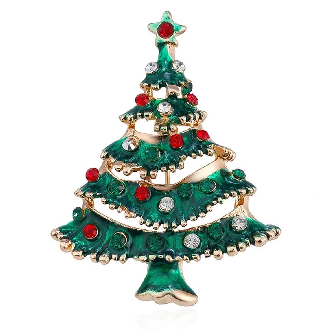 オーディションコミットメントボルトクリスマスツリー ブローチ 雪だるま 鹿 靴 花 キラキラ カラフルー 胸元 襟のブローチピン 合金製 アクセサリー プレゼント クリスマス飾り クリスマス用品 贈り物 ギフト パーティー