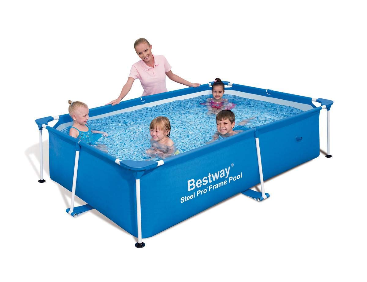 Bestway Piscina Desmontable 239x150x58 cm 56041: Amazon.es ...