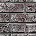 """GenStone Faux Brick Sample 12"""" x 12"""" in Chicago Brick Color for Do It Yourself Friendly Home Improvement Projects"""