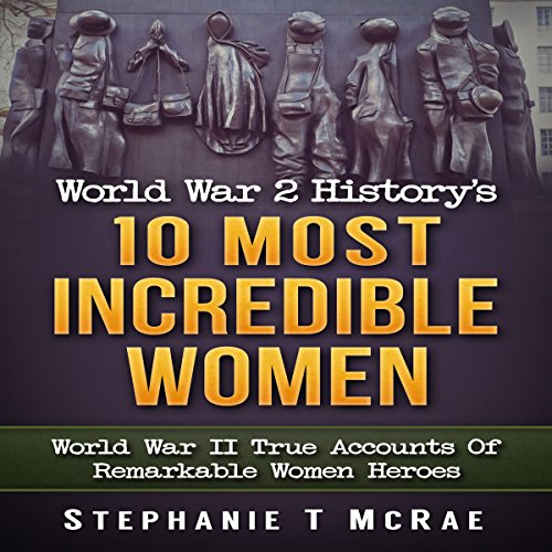 World War 2 History's 10 Most Incredible Women audiobook cover art