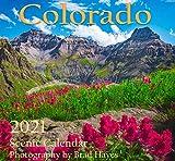 """Colorado Calendar 2021 Scenic Landscapes - 12X12"""""""
