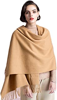 Supplim Cashmere Scarf Soft Pashmina Wraps Shawls Winter Scaves for Men Women