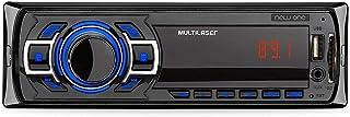 Som Automotivo New One 1 Din MP3 4x12,5WRMS Rádio FM + Entrada Cartão SD + USB + AUX Multilaser - P3318