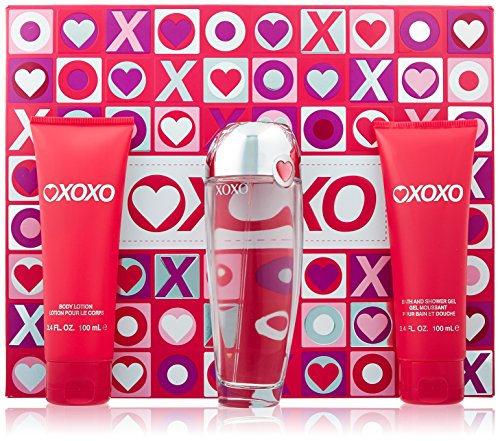 XOXO Eau De Parfums Spray 4 Piece Gift Set for Women