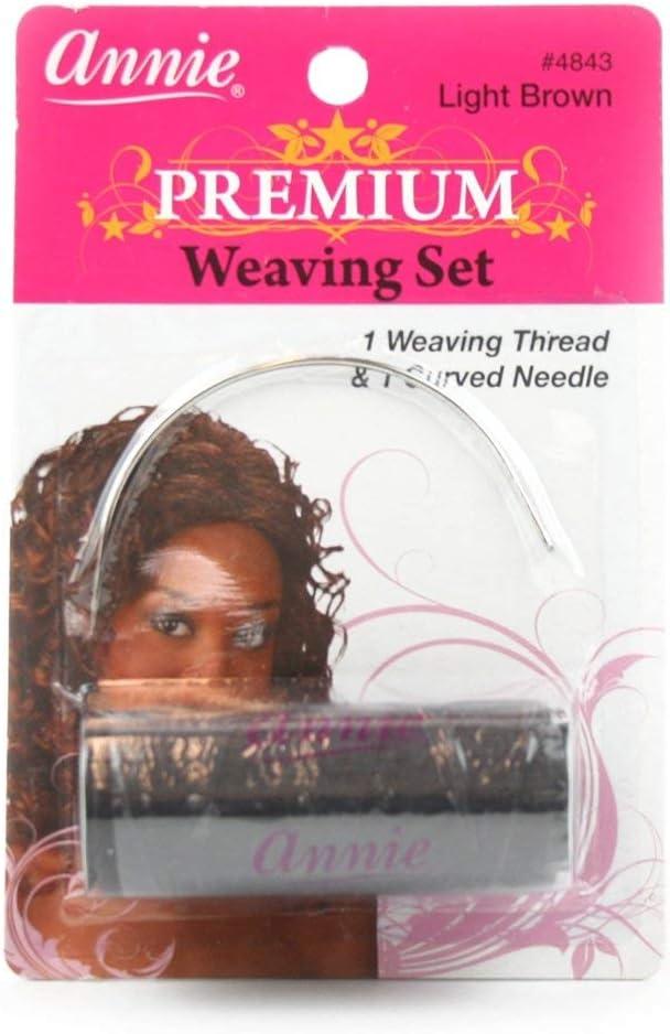 Annie Beige Premium Weaving Set 1 Weaving Thread 1 Curved Needle 4844