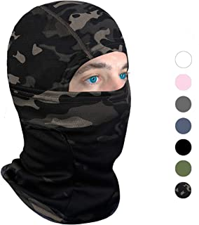 Balaclava Face Mask UV Protection for Men Women Ski Sun Hood Tactical Masks for Skiing, Cycling, Motorcycle, Fishing, Running, Outdoor Tactical Training