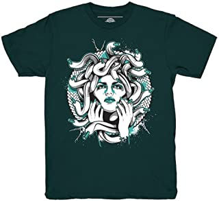 Easter 11 Low Medusa Emerald T-Shirt to Match Jordan 11 Low Easter Sneakers