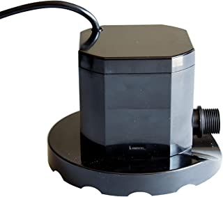 Pumps Away Giant Superior 800 GPH Winter Swimming Pool Cover Pump Above Ground or Inground Pools 1/4 HP Horsepower and Extra Large 7 inch Stabilization Base