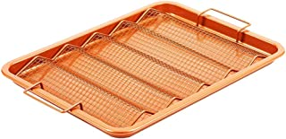 """Copper Chef Oven Crisper Tray for Bacon & More 
