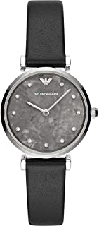 Emporio Armani Women's Two-Hand Silver-Tone Stainless Steel Watch AR11171