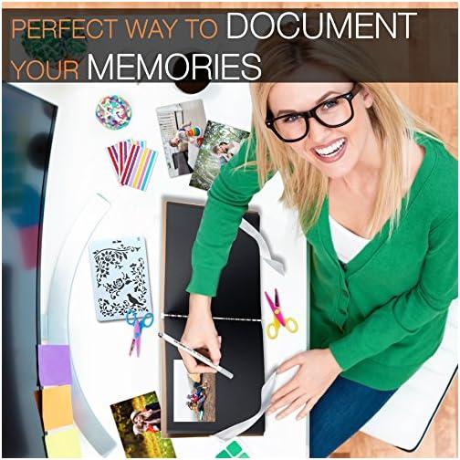 Scrapbook Photo Album DIY Kit,I Deal Wedding, Anniversary Book Family Memory Box w/Accessories - Keep Favorite Memories…  
