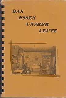 German Recipes (Das Essen Unsrer Leute)
