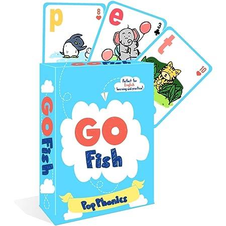 ABC Pop Phonics アルファベット 英語 トランプ カードゲーム Go Fish Card