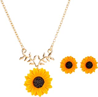 Best daisy necklace and earrings Reviews