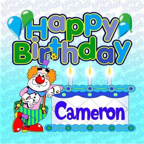 happy birthday cameron Happy Birthday Cameron by The Birthday Bunch on Amazon Music  happy birthday cameron