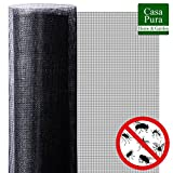 Moustiquaire Fenetre casa pura | Protection n°1 Anti-Insecte : Maille Fine Stop Insecte | Découpable & Indéchirable | 300x120cm