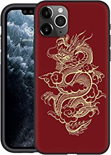 Yoedge Black Silicone Case for Huawei Honor 9A/ Honor Play 9A 6.3inch Shockproof Case Soft TPU Creative Stylish Protective...