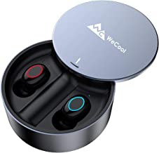 WeCool Moonwalk X3 True Wireless Earbuds Bluetooth Earphones with Touch Control,3000 mAH Battery, IPX4 Sweatproof, Up to 100 Hours Play time with Power Bank Function (Grey)
