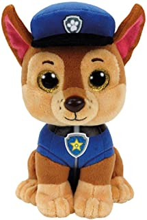 Ty - TY96319 - Pat' Patrouille - Peluche Chase 23 cm