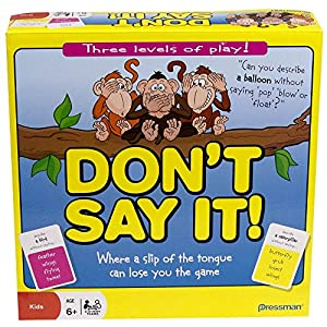 Paul Lamond Games - Don't Say it! (no lo digas) Juego en inglés