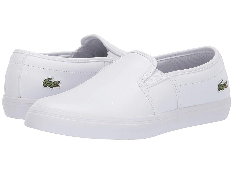 e951eede9 Lacoste Tatalya 119 2 P CFA (White White) Women