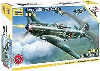 7301 1/72 Yak-3 Soviet Fighter Plastic Model Kit