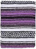 El Paso Designs - Mexican Yoga Blanket - Colorful Falsa Serape - Camping, Picnic, Beach Blanket,...