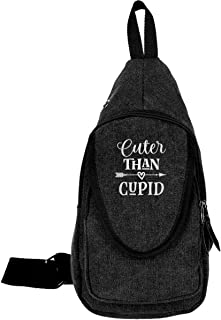 Cuter Than Cupid Chest Crossbody Sling Bag Shoulder Backpack Travel Daypack