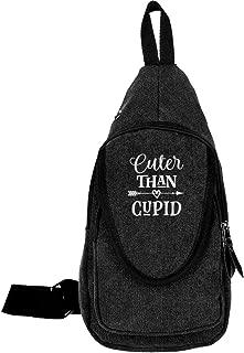 Cuter Than Cupid Chest Crossbody Sling Bag Shoulder Backpack Travel Daypack