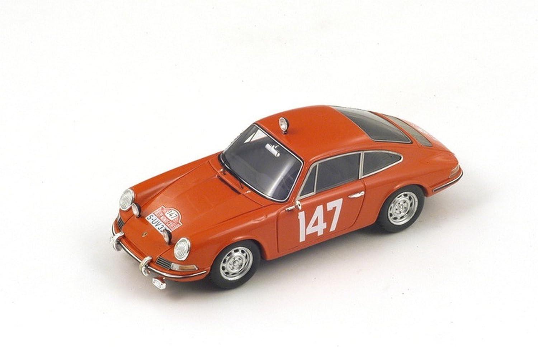 tienda en linea Spark Model S 4020 Porsche 911 T T T 147 5th Monte Cochelo 1965 LINGE-Falk 1 43 Coches  marca en liquidación de venta