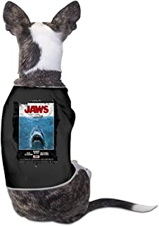 Funny Jaws Movie Poster Pet Dog T Shirt.