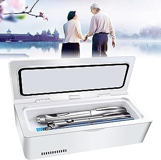 Insulin Cooler kylbox, inbyggt batteri Mini bärbar Insulin Reefer kallförvaringslåda, Mini Drug konstant temperatur kylskå...