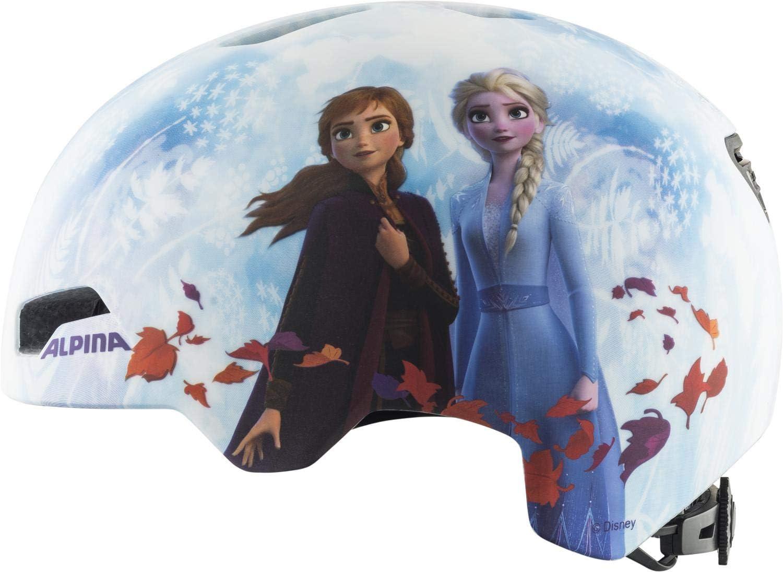 ALPINA Hackney Disney Helm Kinder Frozen II 2021 Fahrradhelm Frozen 2