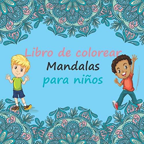 Libro De Colorear Mandalas Para Niños: Libro para colorear 60 MANDALAS Fácil para niños, a partir de 8 años.