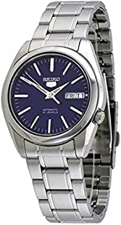 Seiko 5 #SNKL43 Men's Stainless Steel Blue Dial Self Winding Automatic Watch