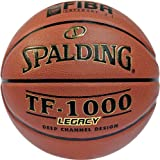 Spalding Tf1000 Legacy Fiba Sz.7 (74-450Z) Balón de Baloncesto, Unisex Adulto, Naranja, 7